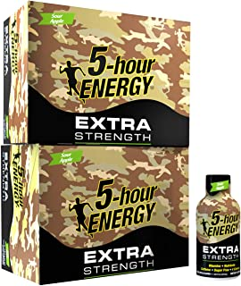 5 Hour Energy, Extra Strength Sour Apple, 24Count