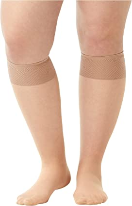 ffe1b4f1e46ae Wolford Satin Touch 20 Knee-Highs at Zappos.com