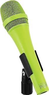 MXL Vocal Dynamic Microphone, XLR to 1/4-Inch, GREEN LSM-9 POP
