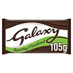 Galaxy Darker Milk with Hazelnuts Chocolate Block 105g