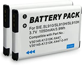 2x Batería V30145-K1310K-X447 para Siemens Gigaset SL910 | SL910A | SL910H