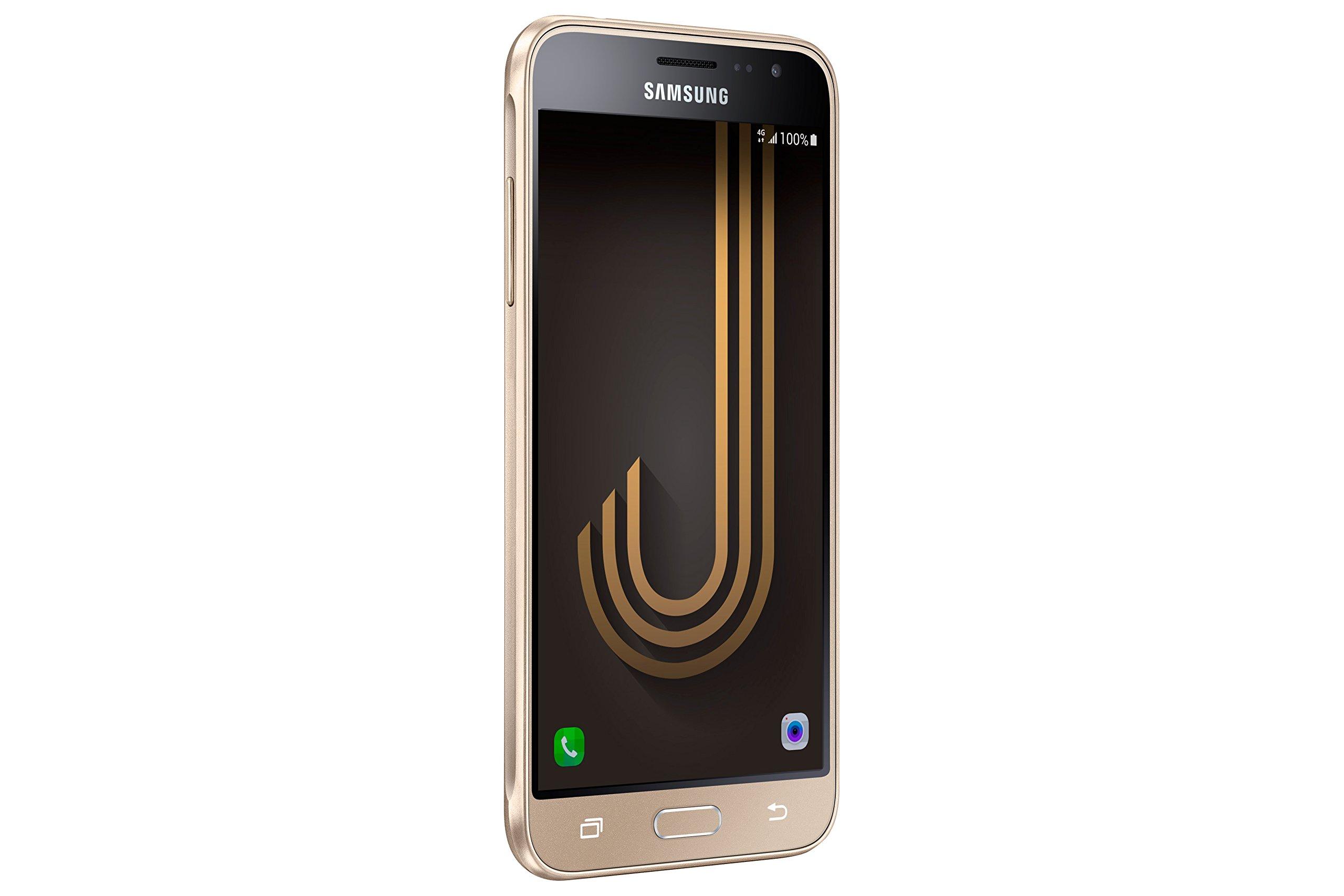 Samsung Galaxy J3 - Smartphone de 5 (SIM única, Android, Memoria Interna de 8 GB, 4G, MicroSIM, Edge, GPRS, gsm, HSPA+, HSUPA, UMTS, WCDMA, LTE), Oro: Amazon.es: Electrónica