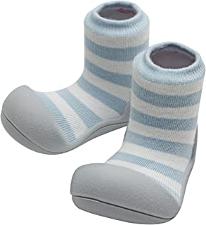 Baby Shoes Socks Rubber Sole First Walker Soft Cotton Ideal Baby Registry Gifts
