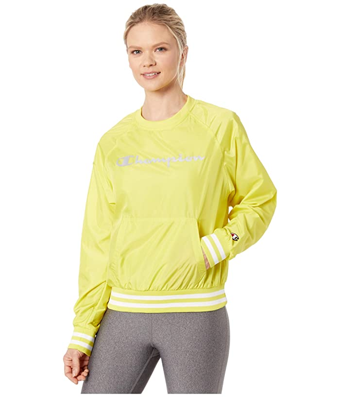 Champion LIFE  Ripstop Crew (Journey Yellow) Womens Clothing