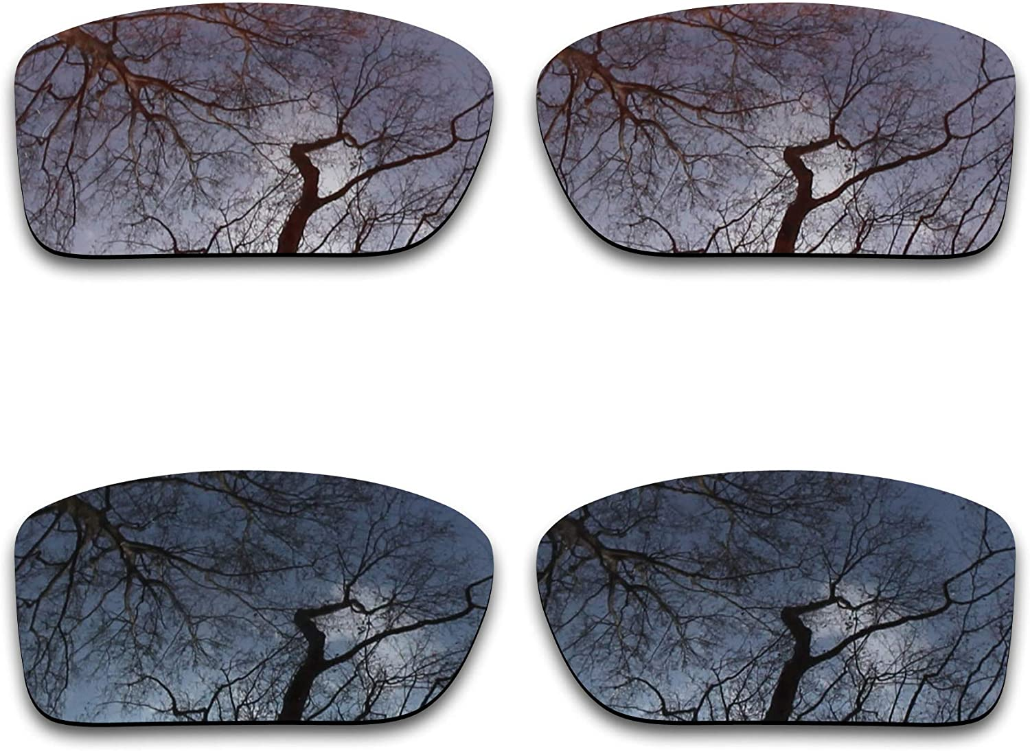 2 Ranking TOP9 Pair Polarized Lens Replacement for BlackB sale Oakley Double Edge