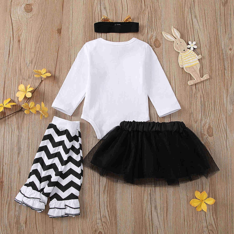 Taicanon Christmas Baby Girl Skirt Outfit Girls My First Christmas Skirt Sets