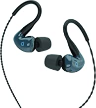 Audiofly AF180 Pro, Wired in-Ear Monitor, with Aufioflex Cable and Noise Isolating Ear Tips, Stone Blue