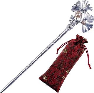 Pavaruni Traditional Gorgeous Chinese Cloisonne Bracelets, Rose Flower Retro Vintage Cultural Designed Enameled Jewelry, C...