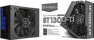 SilverStone Tek 1300 Watt ATX Power Supply with 80 Plus Titanium and Multi GPU Support SST-ST1300-TI