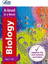 A -level Biology Year 1 (and AS) In a Week