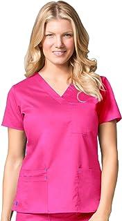 Maevn Women's Blossom 3-Pocket V-Neck Top