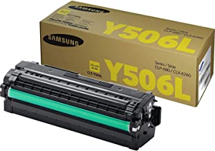 Samsung CLT-Y506L Toner Cartridge Yellow, High Yield for CLP-680ND, 6250FD, 6260FR