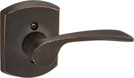 Schlage Lock Company F59MER716GRWLH Merano Left Handed Lever Single Cylinder Interior Pack wi Aged Bronze