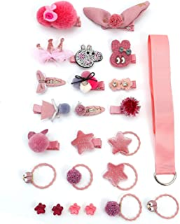Girls Bows Clips Barrettes Hair Accessories Boutique Hair Clip Infant Ribbon Lined Clips for Baby Toddler Little Girl