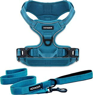 Best Pet Supplies Voyager Dual Attachment Outdoor Dog Harness and Leash Bundle by Best Pet Supplies | NO-Pull Pet Walking ...
