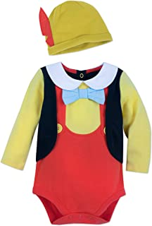 Disney Pinocchio Costume Bodysuit Set for Baby Size 3-6 MO Multi