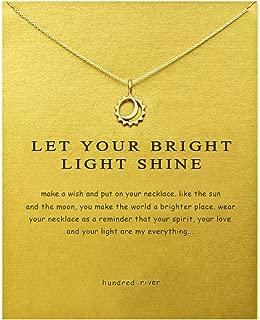 Baydurcan Friendship Anchor Compass Necklace Good Luck Elephant Pendant Chain Necklace..