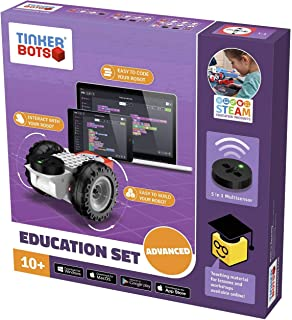 TINKERBOTS Kit Robot Education Advanced Set 00145