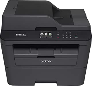 Brother MFCL2740DW Wireless Monochrome Printer with Scanner, Copier and Fax, Amazon Dash Replenishment Ready