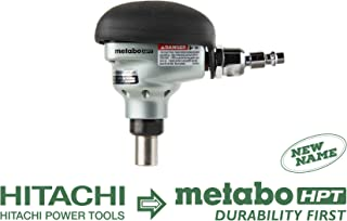 Metabo HPT NH90AB Palm Framing Nailer, 360 Degree Swivel Fitting, Accepts 2-1/2-Inch to 3-1/2-Inch Bulk Framing Nails, Over-molded Rubber Grip, Ideal for Joist Hangers & Metal Connectors