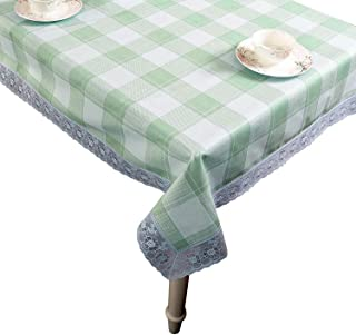 Walrus Waterproof Vinyl Tablecloth,Heavy Weight,Oilproof, Wipeable,Stain-Resistant,Rectangle or Square Plastic Table Cloth for Outdoor Or Indoor 54 x 54 Inch