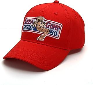 Nofonda Gorra Casual Unisex Bordado de Algodón, Forrest Gump Cap, Gorra de Béisbol, Sombrero de Deporte Ajustable para Esc...