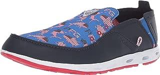 Men's Bahama Vent PFG Shoe (USA) , stormy blue, intense red,10 Regular US
