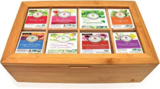 Traditional Medicinals Sampler Assortment Box (40 Count) - Perfect VarietyTraditional Medicinals pack in Bamboo Gift Box