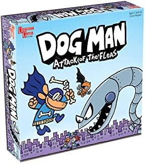 Dog Man Board Game Attack of The Fleas (Fuzzy Little Evil Animal Squad) by University Games Based On The Popular Dog Man B...