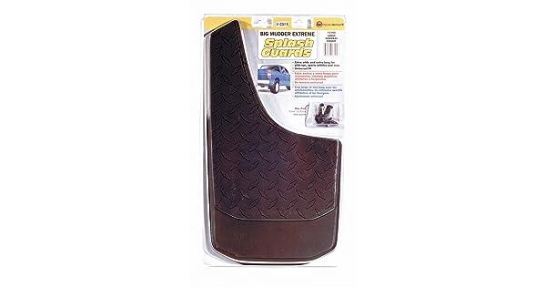 RoadSport 3102 Large Big Mudder Extreme Diamond Plate Design Rubber Splash Guard