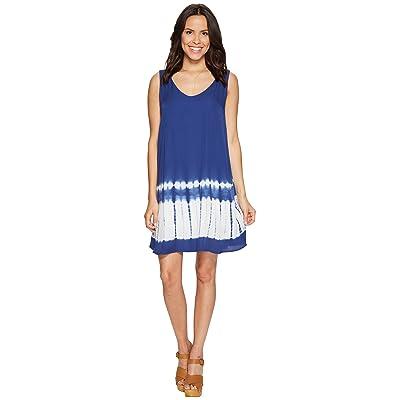 BB Dakota Lennon Tie-Dye Dress (Indigo) Women