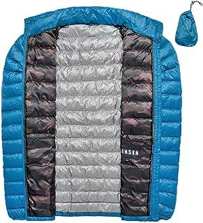 ダウンジャケット メンズ 軽量 ウルトラライトダウン 体熱反射 ダウンコート アウトドア 防寒 暖かい 登山 春秋冬 アウター