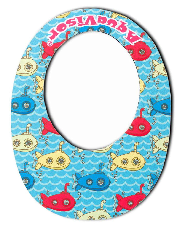 AquaVisor Baby Bath Visor, Safe & Soft Neoprene, Bath & Shampoo Shower Cap - Now in Two Sizes for Infant & Toddler - More Shampooing & Less Boo-Hoo'ing for Baby Bathtub Fun (Patent Pending)