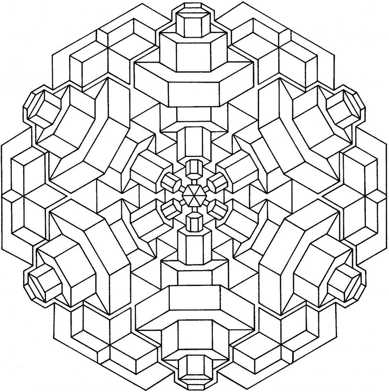 Lebensfreudeladen Mandala Leinwandmalvorlage 083 100 x 100 cm B00G28LMOW | Verpackungsvielfalt