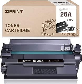 ZIPRINT Compatible Toner Cartridge Replacement for HP 26A CF226A CF226X Toner for HP Laserjet Pro M402n M402dn M402dw M402d HP Laserjet Pro MFP M426fdw M426fdn Toner Printer (Black, 1-Pack)