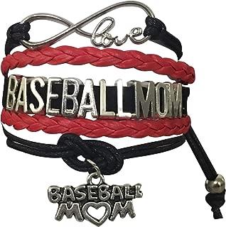 Infinity Collection Baseball Mom Bracelet- Baseball Jewelry for Moms for Baseball Player Moms