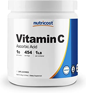 Sponsored Ad - Nutricost Pure Ascorbic Acid Powder (Vitamin C) 1LB