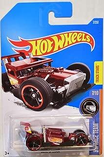 Hot Wheels 2016 Race Team Bone Speeder 7/250 Dark Red