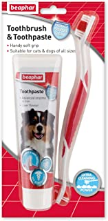 Beaphar Toothbrush & Toothpaste Combipack for Cats & Dogs
