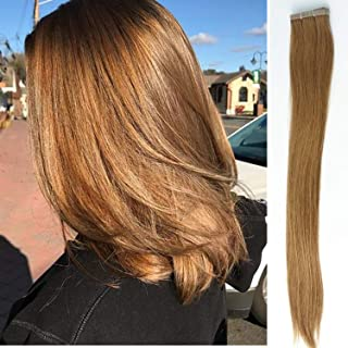 Hand Tied weft Hair Extension Real Human remy Hair Natural Color Skin Weft Straight 100g For Makeup Beauty Support Customization Professional Salon by CANREACH HAIR