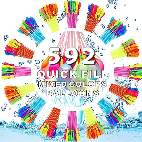 high quality Water outlet online sale Balloons Quick Fill Outdoor Patio Pool high quality Party Games 592 Balloons Quick Fill Bulk Self Sealing online sale