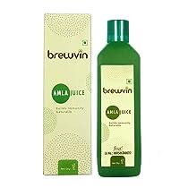 Brewvin Wild Amla Juice, 1L | Boosts Digestion | Boosts Immunity | Organically Harvested | Zero Added Sugar