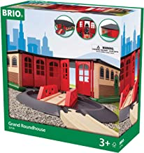 BRIO World - 33736 Grand Roundhouse | 2 Piece Toy Train Accessory for Kids Age 3 and Up