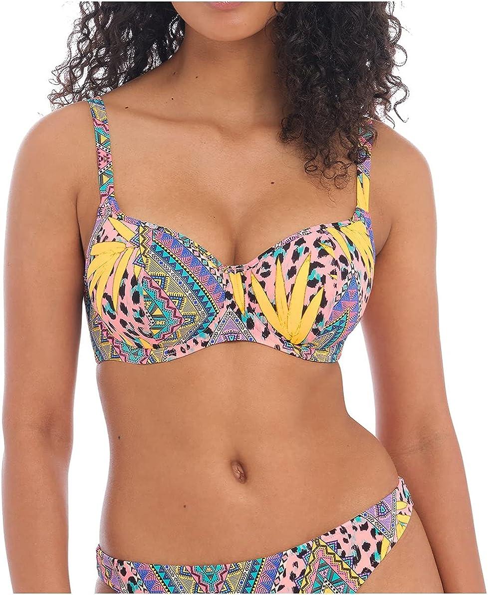Freya Cala Fiesta Sweetheart Padded Underwire Bikini Top (200903)