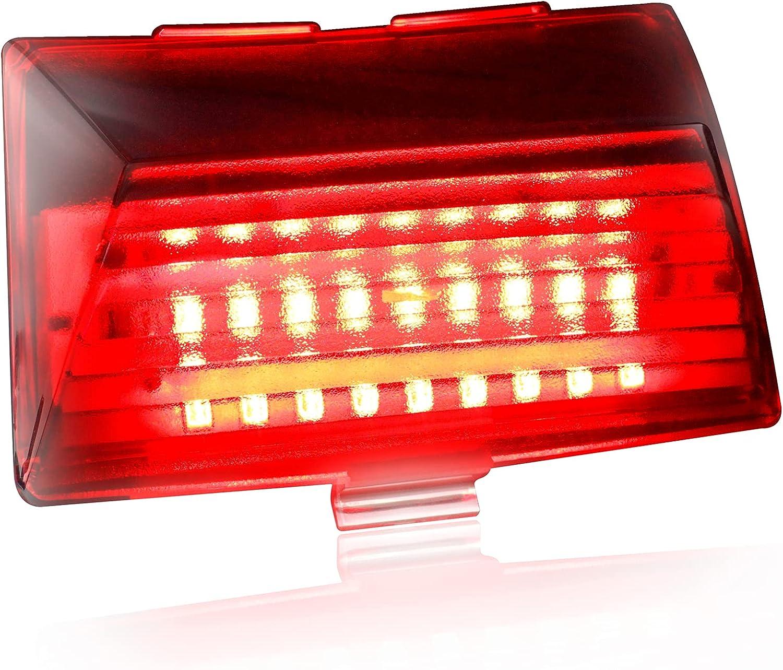Ranking TOP4 NTHREEAUTO LED Rear Fender Tip Kansas City Mall Compa Taillight Tail Chrome Light