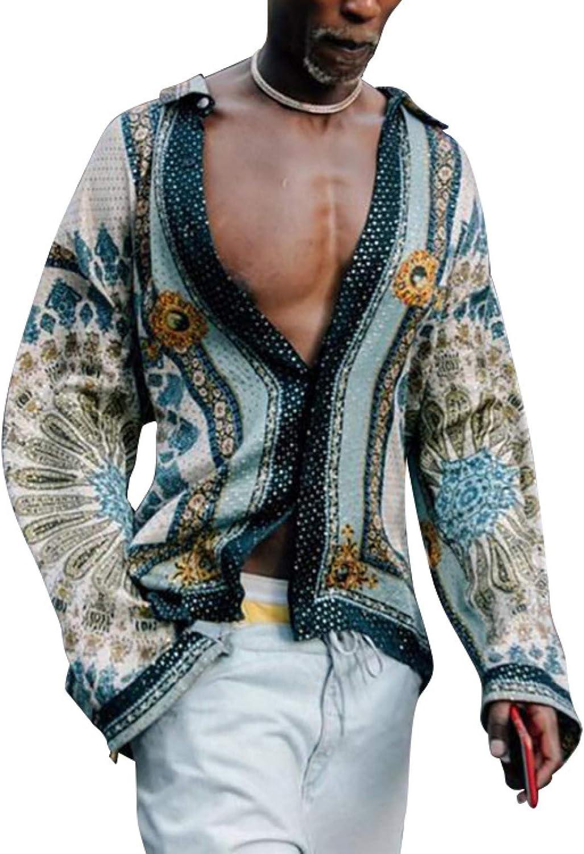 Corumly Men's 5 ☆ very popular Long-Sleeved Shirts Summer American European unisex and N