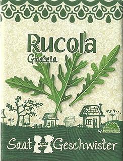 Die Stadtgärtner RucolaGrazia-Saatgut | anregender, pfeffrig-bitterer Geschmack | Samen für 40 Pflanzen