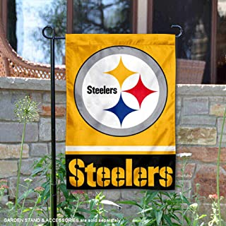 Wincraft Pittsburgh Steelers Gold Double Sided Garden Flag