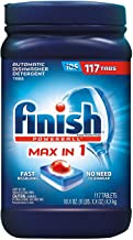 Finish Powerball MAX-In-1 Automatic Dishwasher Detergent, 117 ct. Net Wt 74.1 Oz,, ()