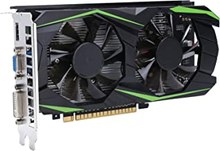 Game Graphics Card,Professional GTX1050TI 4GB DDR 128Bit High?Performance Gaming Graphics Card for HDMI Low Noise Video Me...